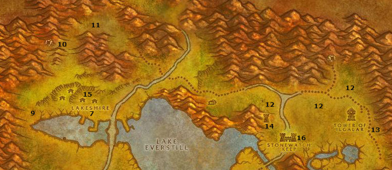 Wow Classic Alliance Leveling Guide 22 23 Redridge Mountains