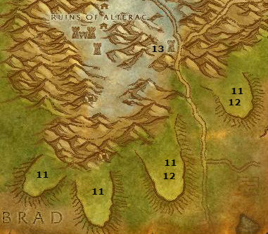 Wow Classic Alliance Leveling Guide 33 34 Alterac Mountains