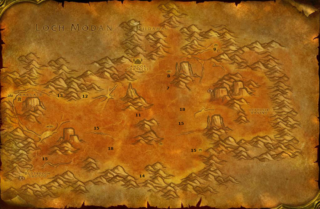 Wow Classic Alliance Leveling Guide 39 40 Badlands