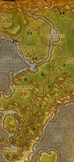 Wow Classic Alliance Leveling Guide 40 41 Stranglethorn Vale