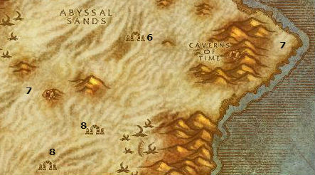 Wow Classic Alliance Leveling Guide 46 47 Tanaris