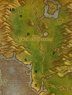 Wow Classic Alliance Leveling Guide 48 48 Feralas