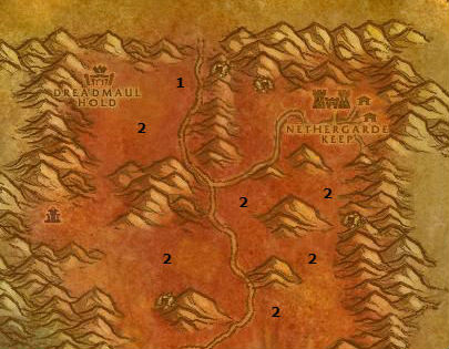 Wow Classic Alliance Leveling Guide 49 49 Blasted Lands