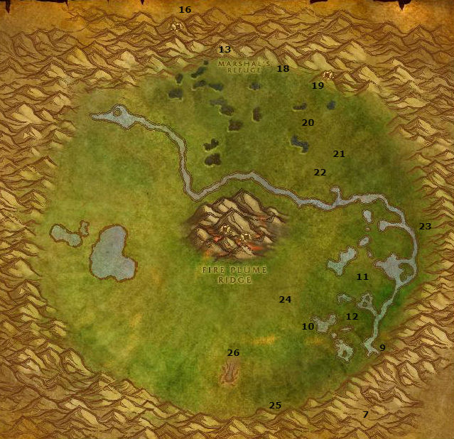 Wow Classic Alliance Leveling Guide 50 51 Un'goro Crater
