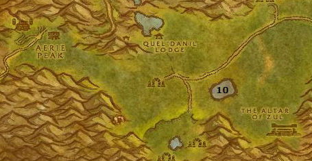 Wow Classic Alliance Leveling Guide 51 Altar Of Zul