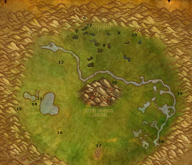 Wow Classic Alliance Leveling Guide 52 53 Un'goro Crater