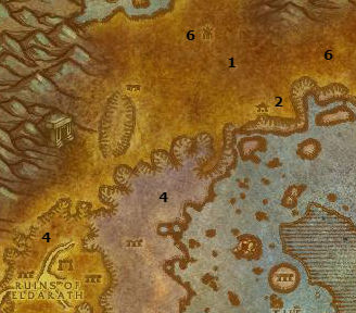 Wow Classic Alliance Leveling Guide 53 54 Azshara
