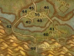 Wow Classic Alliance Leveling Guide 54 55 Wpl Andorhal