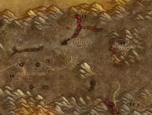 Wow Classic Alliance Leveling Guide 55 55 Burning Steppes