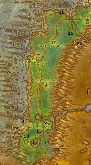 Wow Classic Alliance Leveling Guide Darkshore