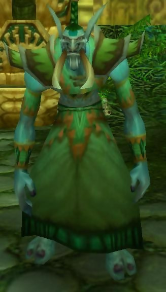 Wow Classic Zul'gurub High Priest Venoxis (snake)