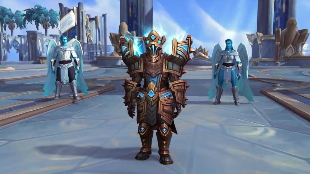 Armure kyrienne du Bastion des Ombres de World Of Warcraft